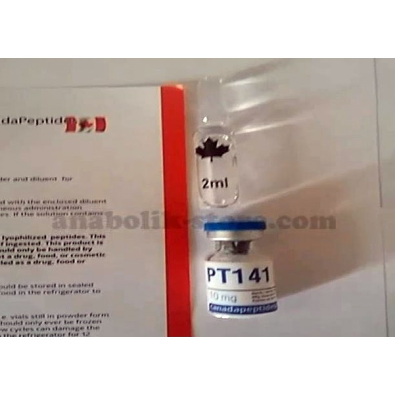 ПТ 141 Канада Пептидс 10 мг - PT 141 Canada Peptides
