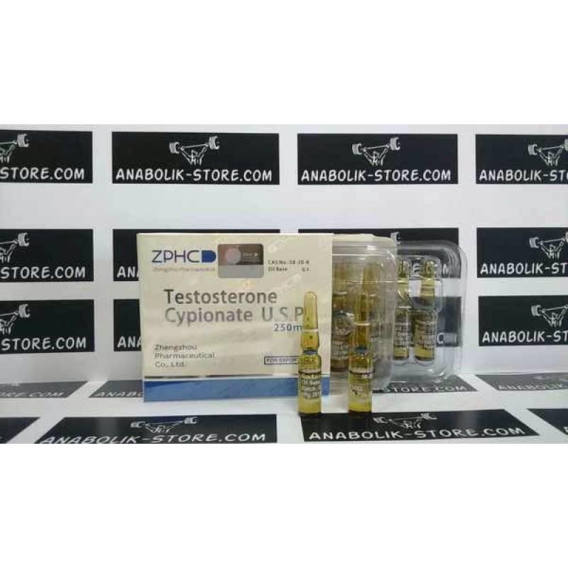 Тестостерон Ципионат Чжэнчжоу 200 мг - Testosterone cypionate Zhengzhou Pharmaceutical Co. Ltd