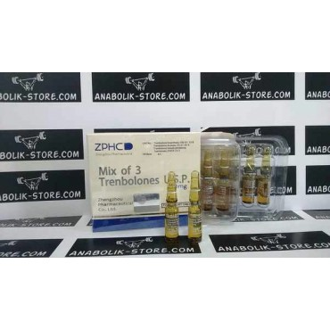 Микс из 3-х Тренболонов Чжэнчжоу 1 мл - Mix of 3 Trenbolones Zhengzhou Pharmaceutical Co. Ltd