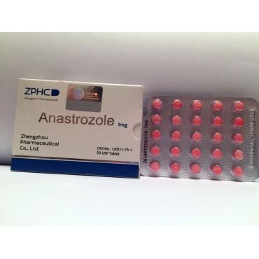 Анастрозол Чжэнчжоу 1 мг - Anastrazole Zhengzhou Pharmaceutical Co. Ltd