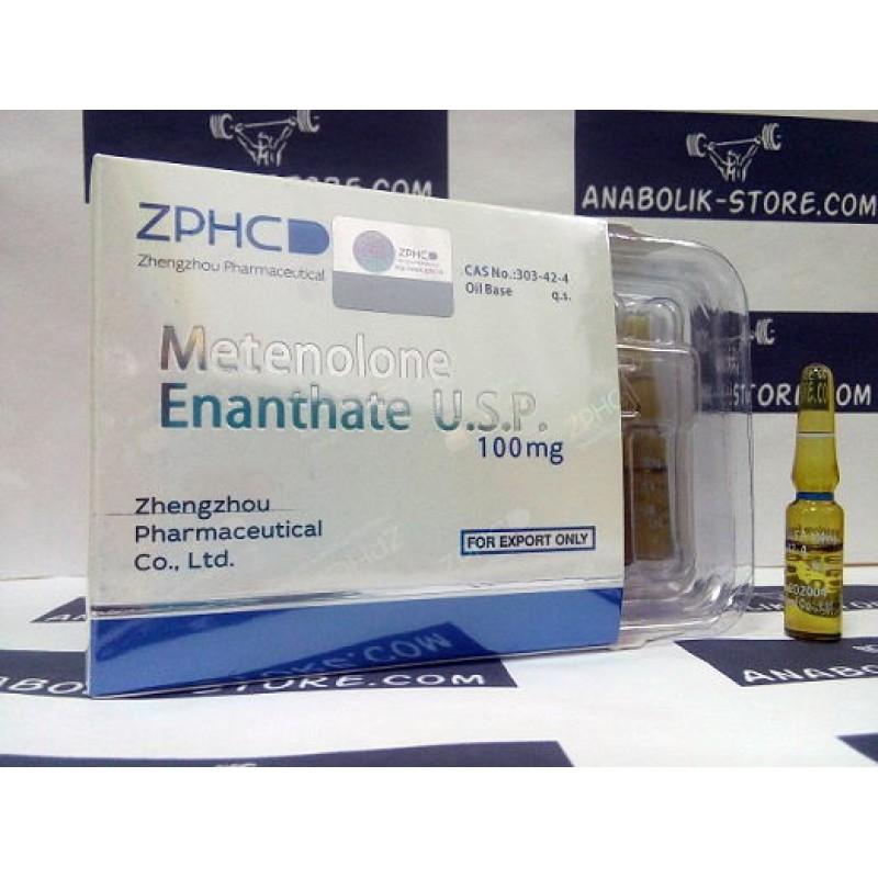 Примоболан Энантат Чжэнчжоу 1 мл - Metenolone Enanthate Zhengzhou Pharmaceutical Co. Ltd