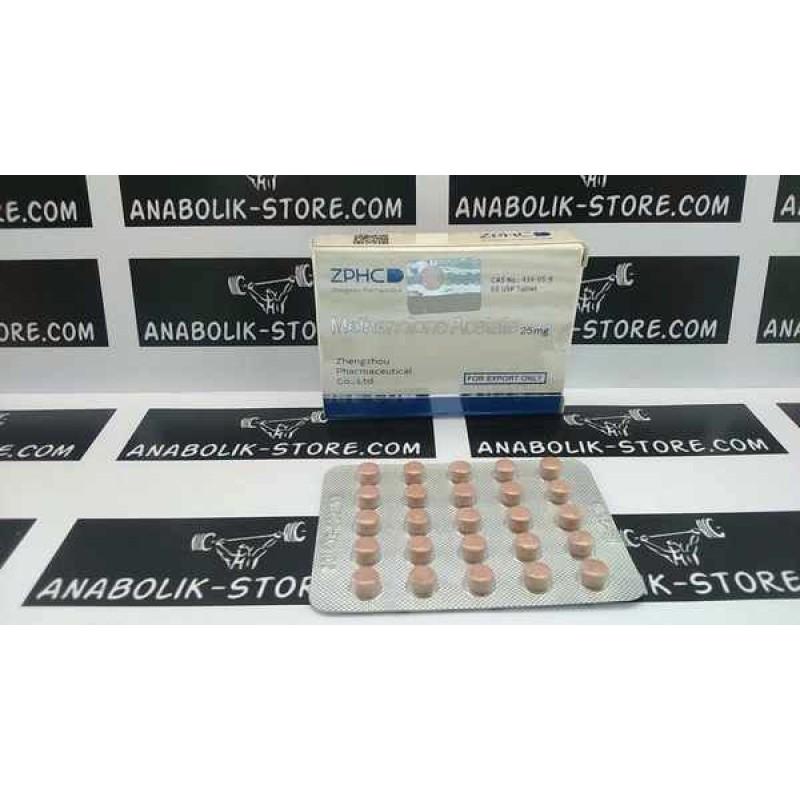 Примоболан Чжэнчжоу 25 мг - Methenolone Acetate Zhengzhou Pharmaceutical Co. Ltd