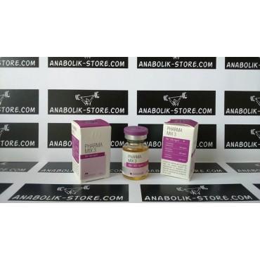 Mix 3 Pharmacom 10 мл по 500 мг (Микс 3 Фармаком)