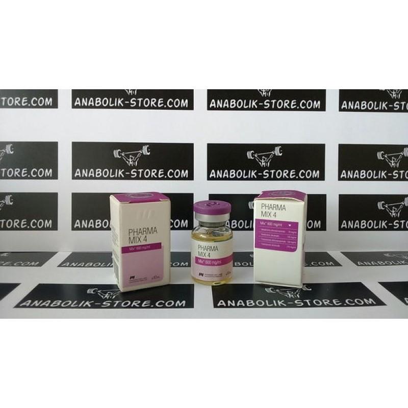 Mix 4 Pharmacom 10 мл по 600 мг (Микс 4 Фармаком)