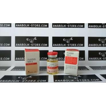 Mix 6 Pharmacom 10 мл по 500 мг (Микс 6 Фармаком)