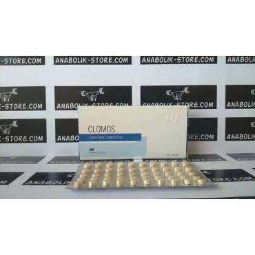 Кломифен цитрат Фармаком Лабс 50 мг - Clomos Pharmacom Labs