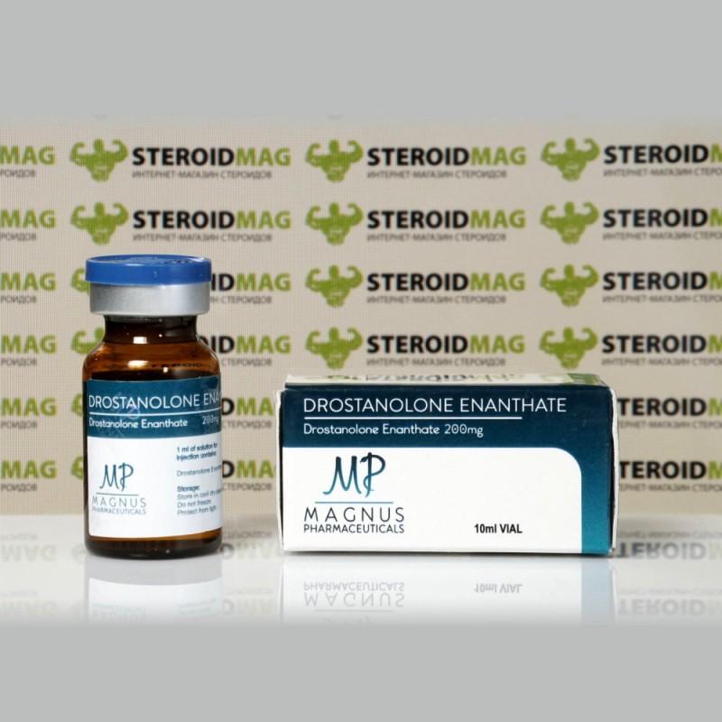 Дростанолон Энантат Магнус Фармасьютикалс 10 мл - Drostanolone Enanthate Magnus Pharmaceuticals