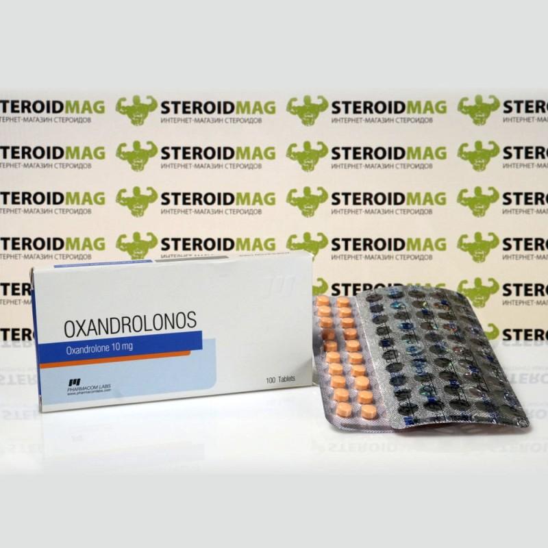 Оксандролонос Фармаком Лабс 10 мг - Oxandrolonos Pharmacom Labs