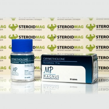 Оксиметолон Магнус Фармасьютикалс 50 мг - Oxymetholone Magnus Pharmaceuticals
