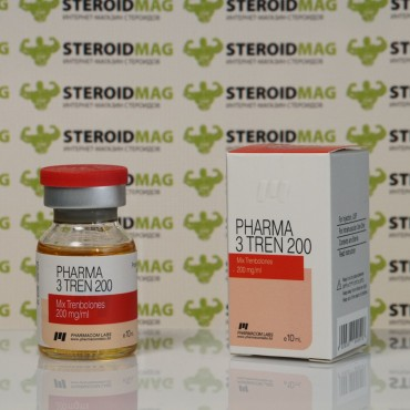 Три Трен Фармаком Лабс 200 мг - Pharma 3 Tren Pharmacom Labs