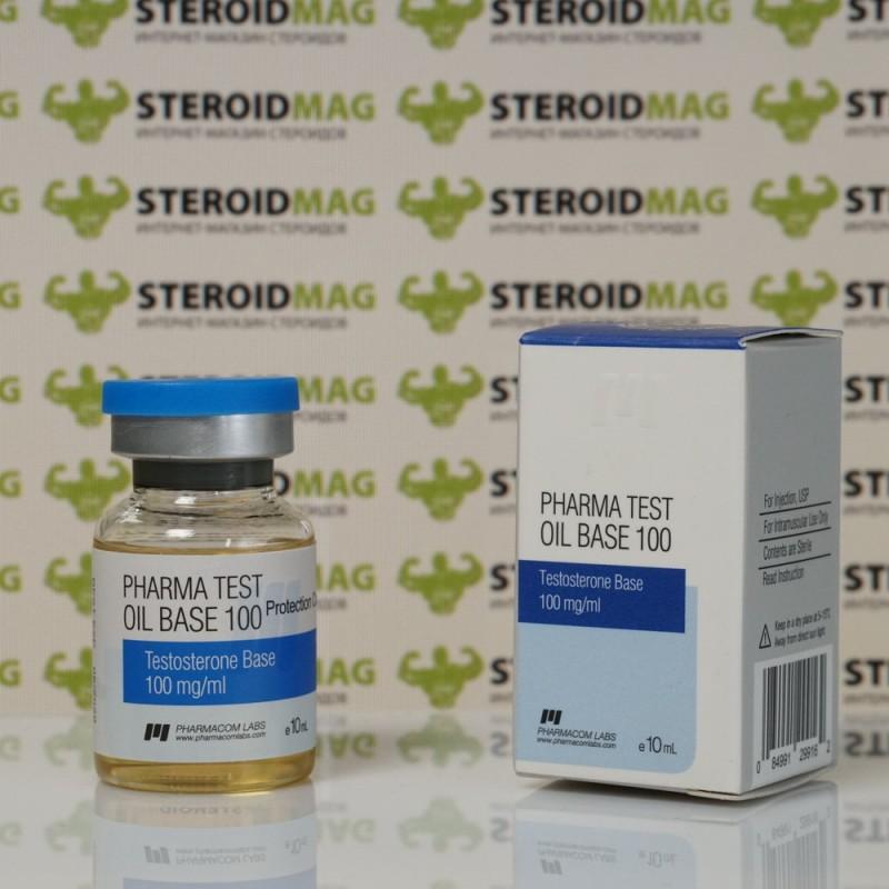 Фарма тест Оил Бэйс 100 Фармаком Лабс 10 мл - Pharma Test Oil Base 100 Pharmacom Labs