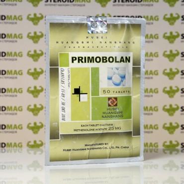 Примоболан ацетат Хубэй 25 мг - Primobolan Hubei Huangshi Nanshang