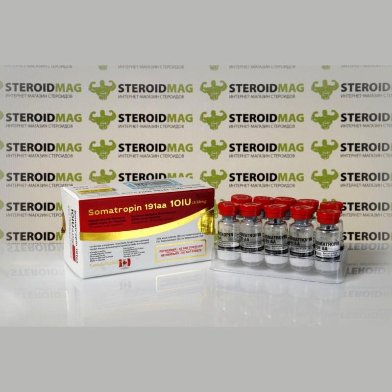 Соматропин Канада Пептидс 10 МЕ - Somatropin 191aa Canada Peptides