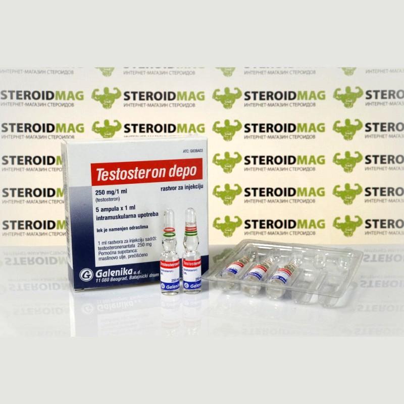 Тестостерон Депо Галеника 1 мл - Testosteron Depo Galenika