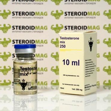 Микс Тестостеронов Молдавиан Фарма 10 мл - Testosteron Mix Moldavian Pharma