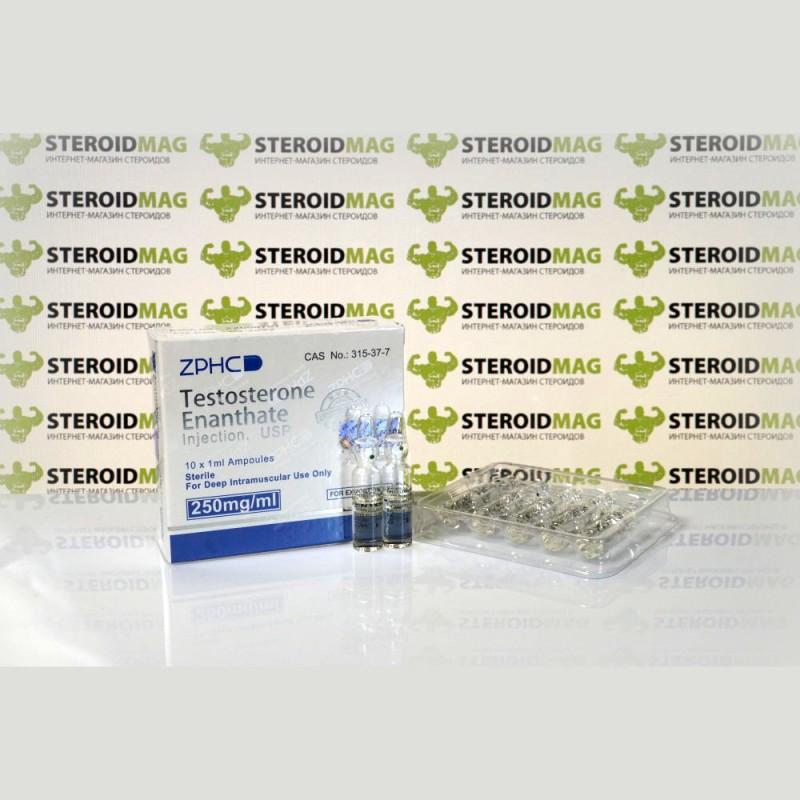 Тестостерон Энантат Чжэнчжоу 250 мг - Testosterone Enantate Zhengzhou Pharmaceutical Co. Ltd