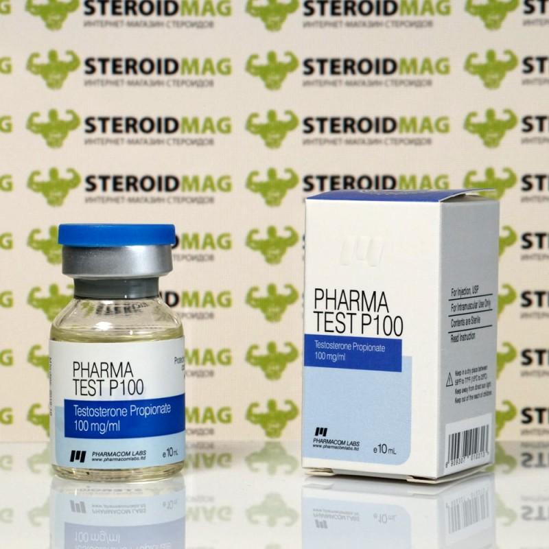 Тестостерон Пропионат Фармаком Лабс 100 мг - Testosterone propionate Pharmacom Labs